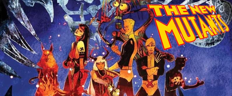 Los Nuevos Mutantes, por Bill Sienkiewicz