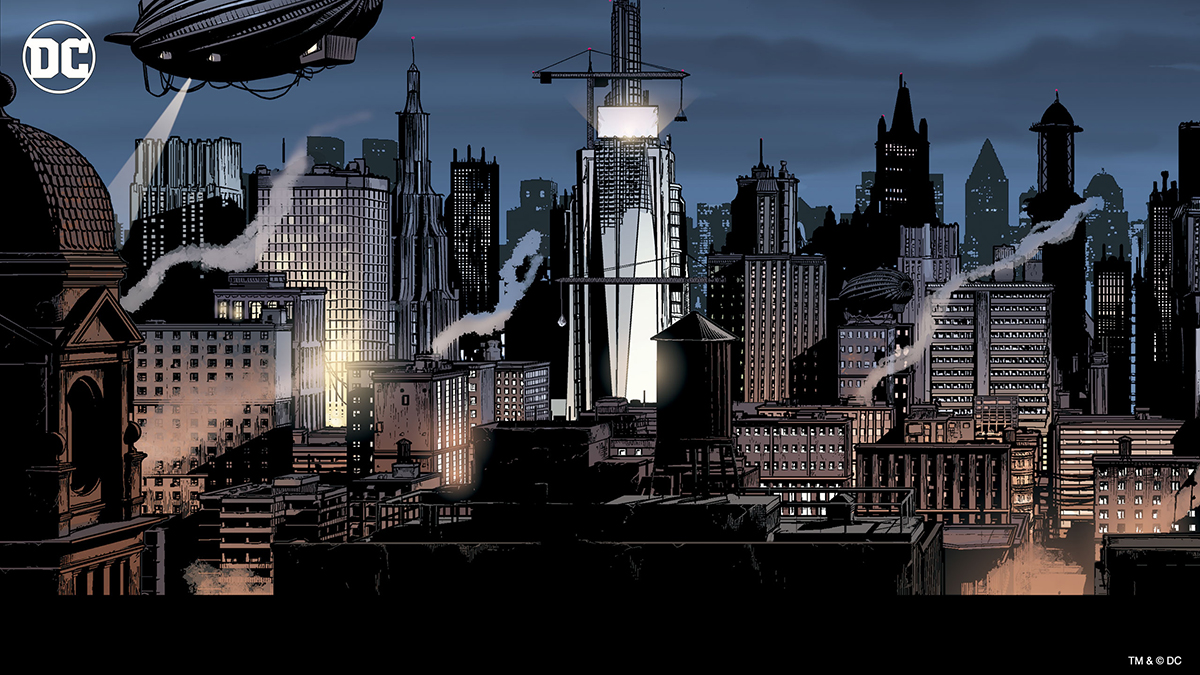 Gotham City Batman comics
