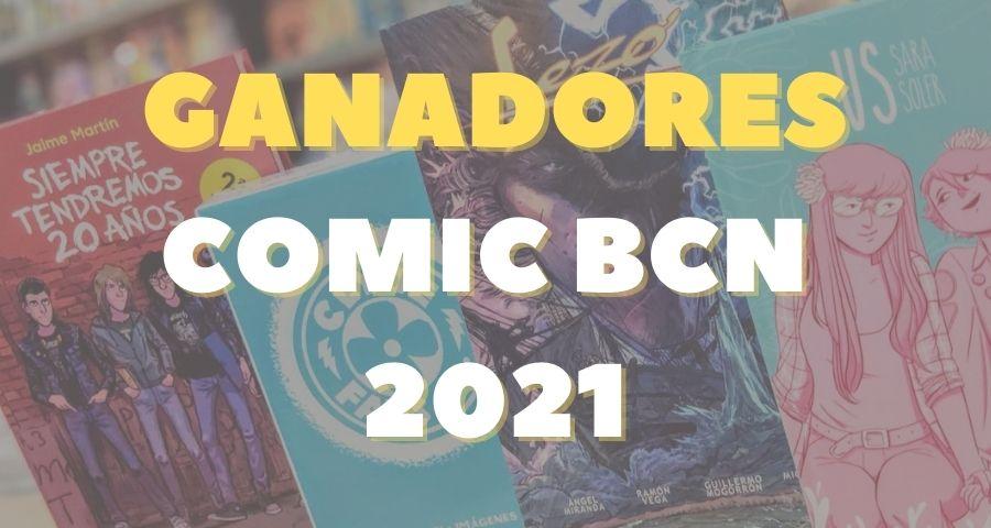 Ganadores Salon del comic 2021